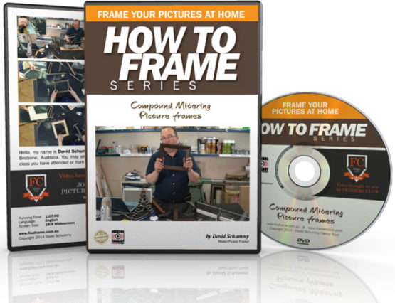 Compound Mitering Picture frames DVD